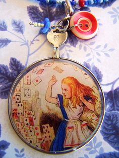 Alice in Wonderland Necklace $28