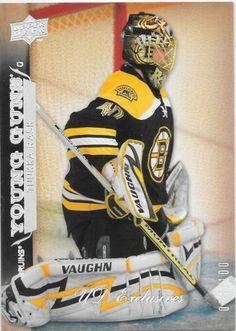 Tuukka Rask 2007-08 Upper Deck UD Young Guns EXCLUSIVES #456 #074/100 | eBay Hockey Cards, Baseball Cards, Young Guns, Boston Sports, Boston Bruins, Upper Deck, Ebay, Young Life Camp