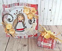 Gavesett til konfirmant - laget med nydelige produkter fra Papirdesign ♥ Papirene her er juleark, men passer like fint til konfirmasjon :)