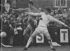 24th January 1970. Allan Clarke in action against Sutton United in an FA Cup 4th Round tie.