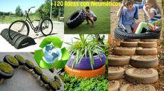 Reciclar Neumáticos +120 Ideas / Recycling tires +120 Ideas