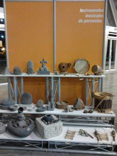 Instrumentos musicales en la II Feria Tricontinental de Artesanía. Tenerife