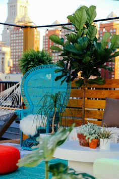 "I had the experience of a lifetime yesterday, having had the opportunity to be a part of APT CB2: the ""first apartment that Pinterest built."" My space was the rooftop and items got voted into the space all day long and the space came alive bit by bit. Here is a video of the me …"