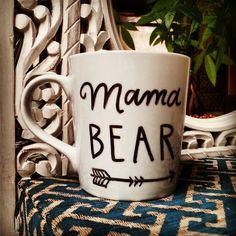 Coffee Mug: Mama Bear Funny/Humor Cup by PeterAndWolf on Etsy