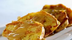 Cinnamon Roll French Toast.  With Grandma's Molasses, you won't be able to resist this delight!  grandmasmolasses.com #recipe #molasses #allnatural #frenchtoast