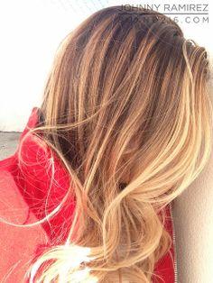 California blonde.