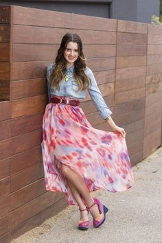 watercolor skirt - Google Search