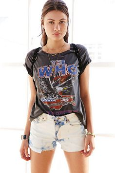 Junk Food The Who Tour Tee - Urban Outfitters