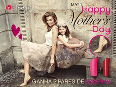 Celebrate mothers Day, with Bleenk!  Visit our facebook and find out how to win Bleenks for you and your mom ❤