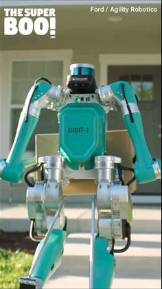 This Package Delivery Robot Walks Like A Human New Technology Gadgets, Technology Posters, Technology Wallpaper, Futuristic Technology, Computer Technology, Tech Gadgets, Technology Background, Science And Technology, Technology Apple