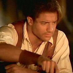 Brendan Fraser as Rick in The Mummy