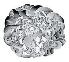 japanese tattoo drawing | Japanese Flower Tattoo - flower-tattoo, tattoo-flower