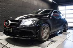 #Mcchip-DKR Increases Power Of #Mercedes-Benz A45 #AMG To 404HP