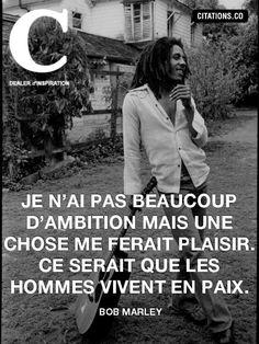 Bob Marley - 18 Citations - La vache rose Image Bob Marley, Bob Marley Citation, Bob Marley Quotes, Eminem, Cosmic Boy, Bob Marley Pictures, Nesta Marley, Image Citation, Strong Words