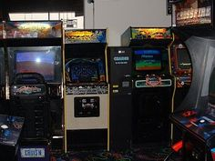 old arcade games