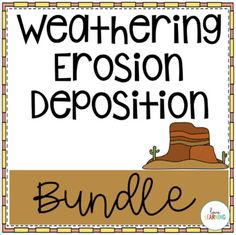 Weathering, Erosion, and Deposition Bundle by Love Learning 4th Grade Science, Science Curriculum, Science Lessons, Weathering And Erosion, Powerpoint Lesson, Google Classroom, Earth Science, Upper Elementary, Student Learning