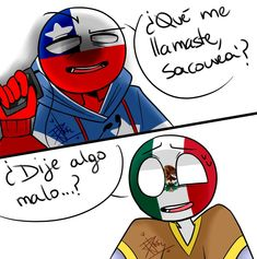 Read CanMex from the story Imagenes yaoi de CountryHumans by with reads. etc, perú, chile. Chile Girls, Humans Meme, Creepy Pasta Family, Mundo Comic, Wattpad, Country Art, Stupid Memes, Hetalia, Spiderman