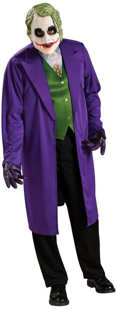 Not sure I like this joker costume as much, but its a possibility!