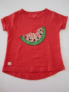 mis nancys, mis peques y yo, tutorial aplique camiseta sandia con pepitas 2