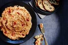 Wolfgang Puck's Pimento Cheese Dip Makes: 3 cups 2 medium red bell peppers, roasted, peeled and chopped 2 medium yellow bell peppers, roasted, peeled and chopped 1 cup cream cheese, softened …