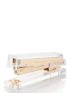 strike gold stapler - Kate Spade New York