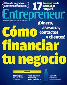 Edición de noviembre. Opciones para conseguir un crédito o financiamiento para tu negocio.