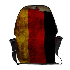 #Deutsche #Flagge #Kuriertasche - #Vintag designed by #pASob at #zazzle.de 105,00 € pro #Tasche