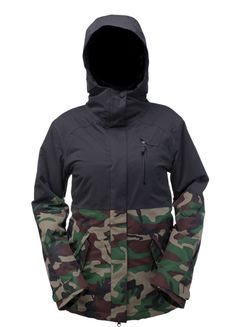 Magnolia Insulated Jacket | Women's Snowboard Outerwear | Ride Snowboards 2015-2016