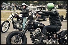 Bottrop Kustom Kulture 2012 by Pixeleye Interactive // Dirk Behlau Bobber Chopper, Kustom Kulture, Custom Bikes, Motor Car, Cars Motorcycles, Old School, Harley Davidson, Biker, Bobbers
