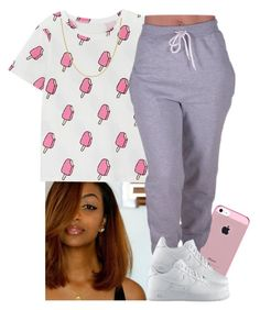 """""""Chill Day"""" by xtiairax ❤ liked on Polyvore featuring CO, Fremada and NIKE"""