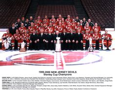 2000 Stanley Cup Champions - New Jersey Devils