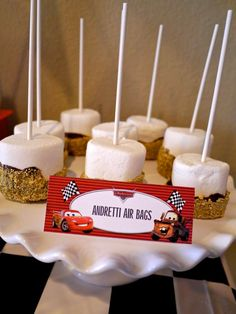 Disney Cars Birthday Party Ideas | Photo 9 of 80 | Catch My Party