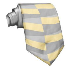 Gray And Yellow Neckties - Gray And Yellow Ties for Men   Zazzle