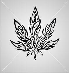 tribal-marijuana-leaf-vector-1985642.jpg (380×400)