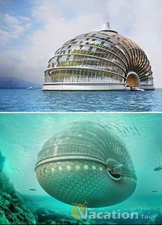 Floating Hotel - Bahamas.