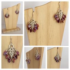 A personal favourite from my Etsy shop https://www.etsy.com/uk/listing/385967158/blossom-earrings-chainmaille-drop