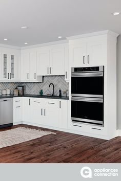 30 Inch Electric Double Wall Oven with 4 Oven Racks, Convection, Sabbath Mode, Delay Bake, Delay Start, Star-K Certified in Stainless Steel  #frigidaire #walloven #whitekitchen #kitchendesign #homedesign #homedecor #homeideas White Interior Design, Interior Design Inspiration, White Kitchens, Cool Kitchens, Electric Wall Oven, Oven Racks, Sabbath, Kitchen Designs, Kitchen Decor