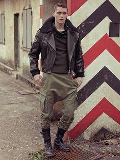 Balmain Autumn-Winter 2014-2015 Men's Military Style (3)