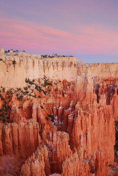 Bryce Canyon, Utah - beautiful national park region