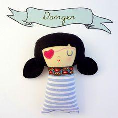 Danger...a pirate girl.