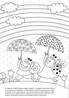 Bogyó és Babóca Diy And Crafts, Crafts For Kids, Colouring Pages, Coloring For Kids, Colour Images, Kids And Parenting, Kids Learning, Folk Art, Kindergarten