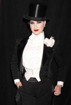 Sensuous...Dita Von Teese, Burlesque Dancer, Model, Costume Designer and Entrepreneur.