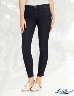 Lucky Brand Women's Sofia Skinny Tux Piped Jean In Cullowhee Wash