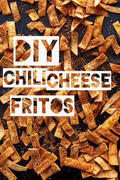 Baked Chili Cheese Fritos   minimalistbaker.com #minimalistbaker