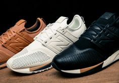 The quality craftsmanship New Balance is known for and on-trend modern lifestyle aesthetic combine seamlessly for the brand's all-new silhouette for 2017, the 247. Fusing heritage design cues with a fresh new silhouette, the 247 takes inspiration from three classic … Continue reading →