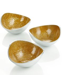 I have to buy ivory color.....Simply Designz Serveware, Set of 3 Organic Nut Bowls