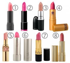 The Top 8 Pink Lipst