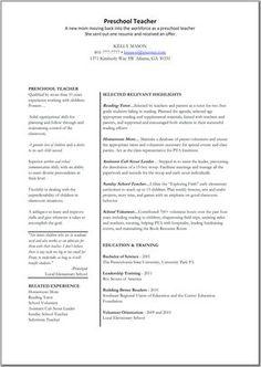 Child Care Worker Description For Resume Click Image
