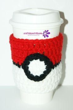 Pokemon Crochet Cup Cozy