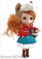 little red riding hood blythe!!  how cute!!